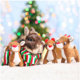 Zippy Paws Miniz - Reindeer - Furevables Pet Boutique