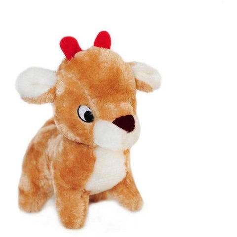Zippy Paws Deluxe Reindeer Toy - Furevables Pet Boutique