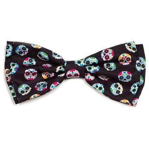 Skulls Dog Bowtie - Furevables Pet Boutique