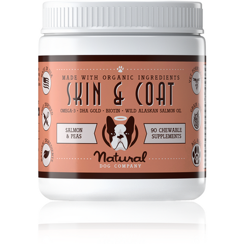 The Natural Dog Company Skin and Coat Supplement - Furevables Pet Boutique
