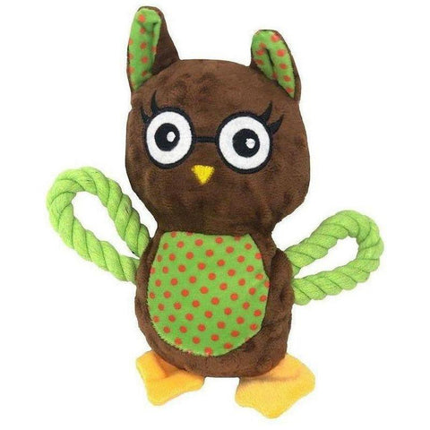 Snuggle Friends Owl Teether - Furevables Pet Boutique