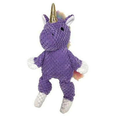 Rainbow Unicorn Plush Dog Toy - Furevables Pet Boutique