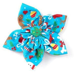Winter Wonderland Collar Flower - Small - Furevables Pet Boutique