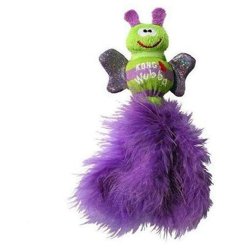 KONG Wubba Bug Cat - Purple - Furevables Pet Boutique