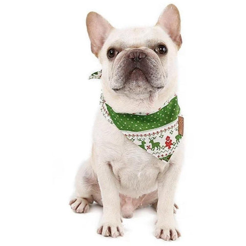 Christmas Festive Dog Bandana - Furevables Pet Boutique