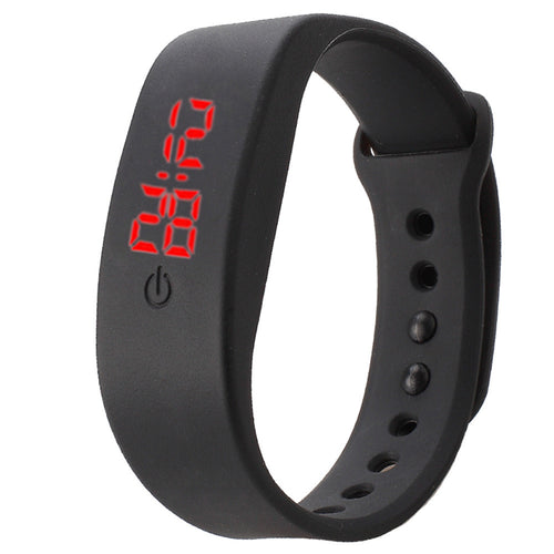 Silicone LED Sports Watch