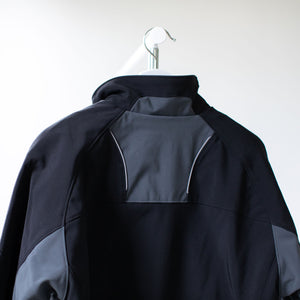 A Men's Storm Jacket with the ETFO logo