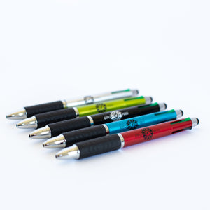 A selection of Stylus Pens with Ink with the ETFO logo