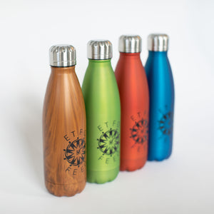 A Stainless Steel Insulated Bottle (500ml) with the ETFO logo