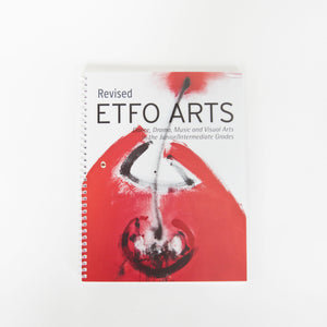 The cover of Revised ETFO Arts (CD and Book)
