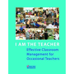 The cover of I Am the Teacher