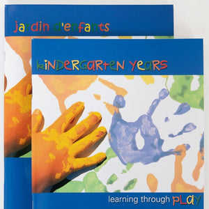 The cover of Kindergarten Years - Learning Through Play (English)