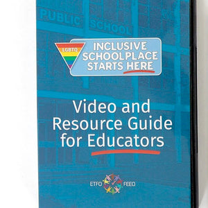 The LGBTQ Inclusive Schoolplace Starts Here (DVD) package