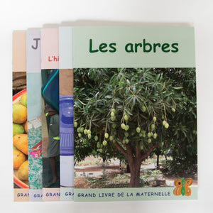 The Cover of Benin Books (5-Book Set French)