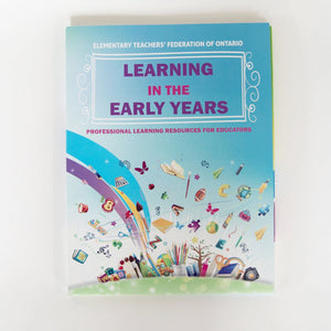 The cover of the Learning in the Early Years Resources Kit