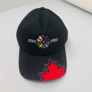 Baseball caps with Red Maple Leaf