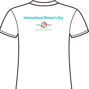 2021 International Women's Day T-Shirt Tapered Cut