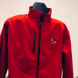 Red Bonded Soft Shell Jacket
