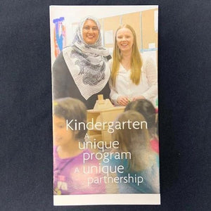 Kindergarten A unique program A unique partnership