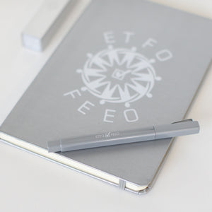 The Journal Gift Set with Charger with the ETFO logo