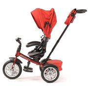 DRAGON RED BENTLEY 6 IN 1 STROLLER TRIKE - Luxury Bentley Trike for kids