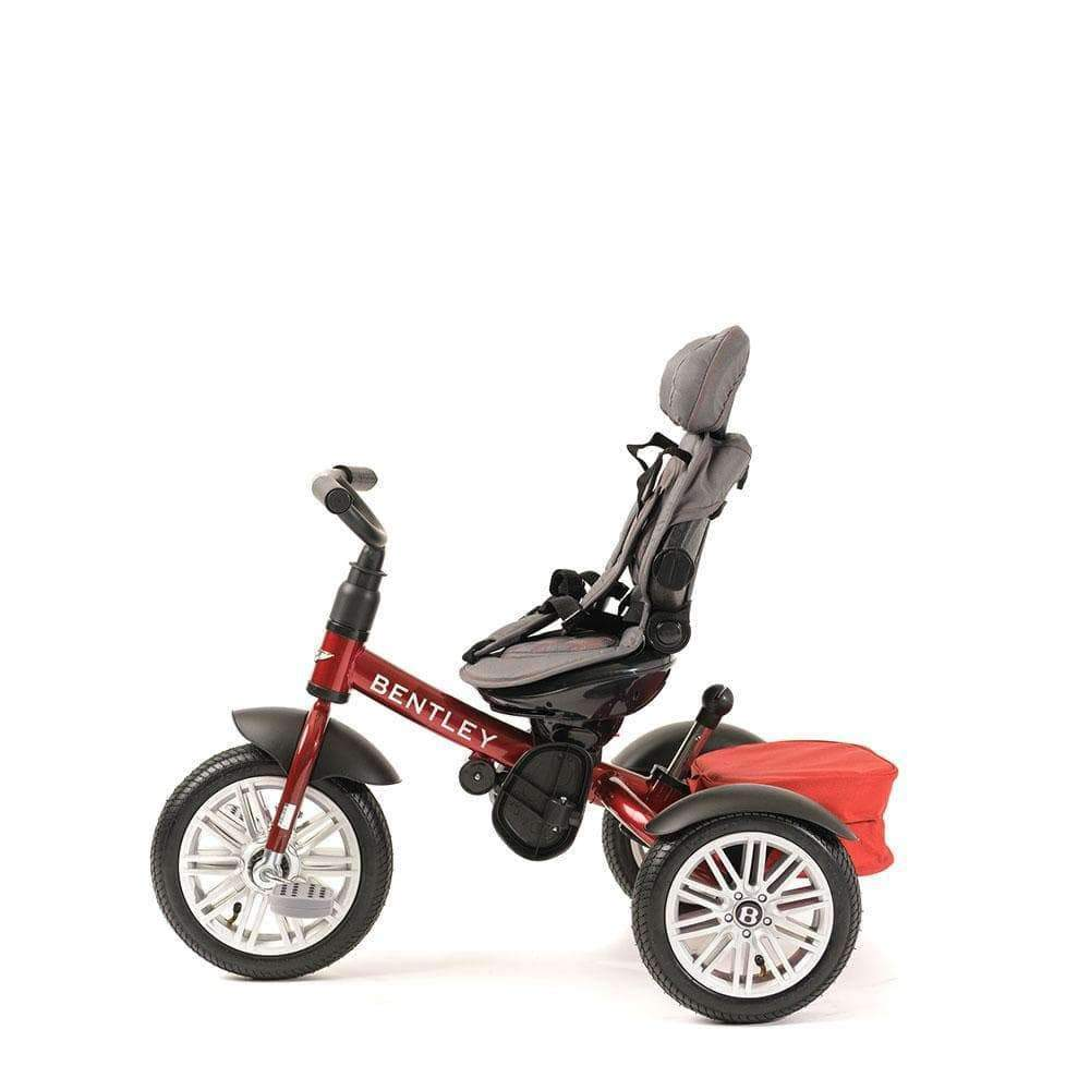 DRAGON RED BENTLEY 6 IN 1 STROLLER TRIKE - Smart Bentley Trikes