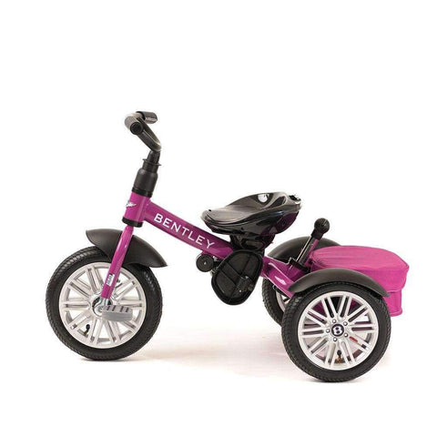 FUCHSIA PINK BENTLEY 6 IN 1 STROLLER TRIKE - Convertible Bentley Trike