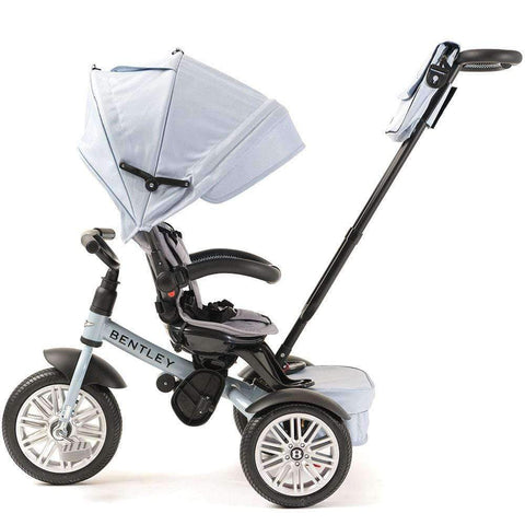 JETSTREAM BLUE BENTLEY 6 IN 1 STROLLER TRIKE - Luxury Bentley Trikes