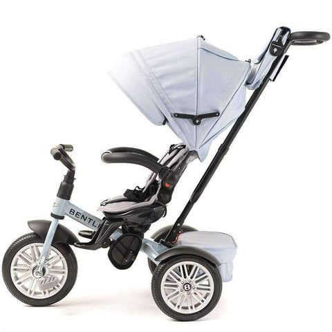 JETSTREAM BLUE BENTLEY 6 IN 1 STROLLER TRIKE - Luxury Bentley Kids Trike