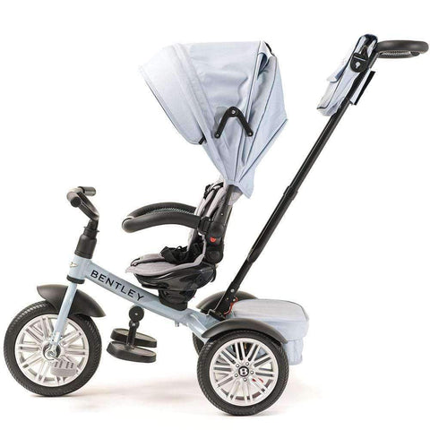 JETSTREAM BLUE BENTLEY 6 IN 1 STROLLER TRIKE - Luxury Bentley Trike with Push Handle