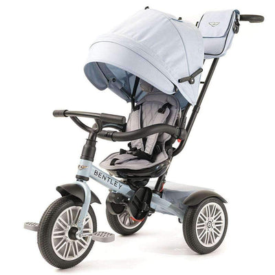 JETSTREAM BLUE BENTLEY 6 IN 1 STROLLER TRIKE - Luxury Bentley Trike