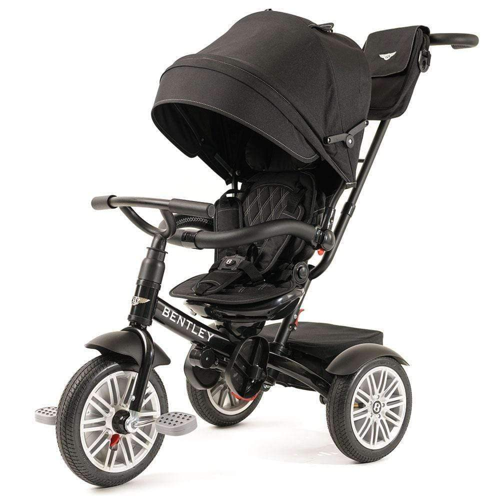 ONYX BLACK BENTLEY 6 IN 1 STROLLER TRIKE