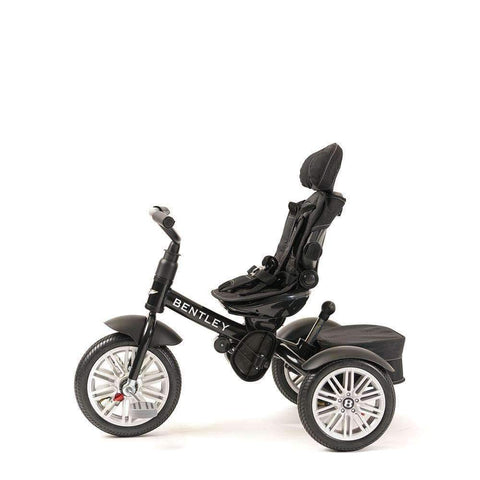 ONYX BLACK BENTLEY 6 IN 1 STROLLER TRIKE - Luxury Kids Trike