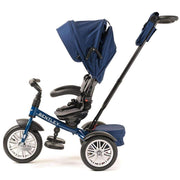 SEQUIN BLUE BENTLEY 6 IN 1 STROLLER TRIKE - Luxury Bentley Stroller Tricycle