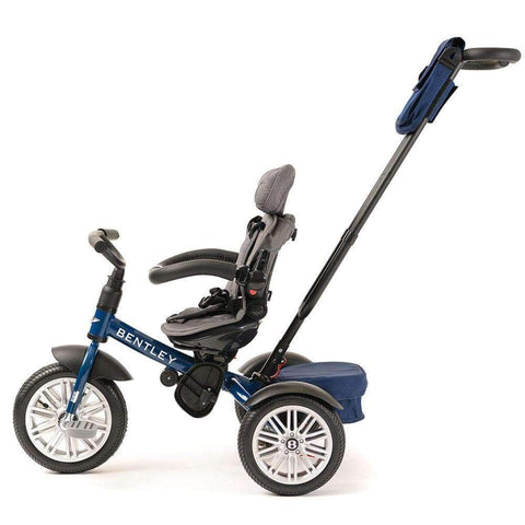 SEQUIN BLUE BENTLEY 6 IN 1 STROLLER TRIKE - Smart Bentley Trike