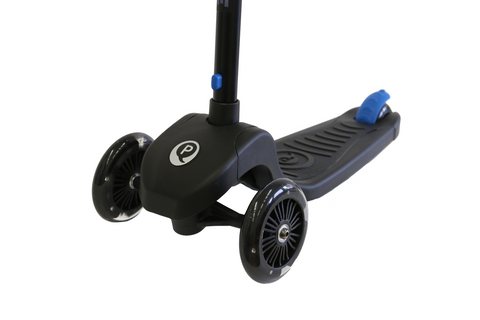 Blue Qplay Future LED light scooter