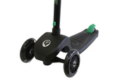 Green Qplay Future LED Light Scooter