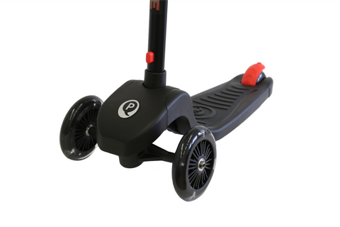 Red Qplay Future LED Light Scooter