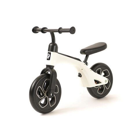 White QPlay Balance Bike - Balance Bike for Kids
