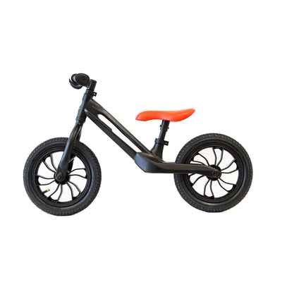 Phantom Black Qplay Racer Balance Bike