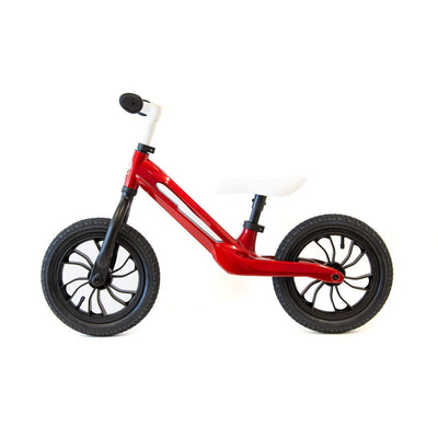 Candy Red Qplay Racer Balance Bike