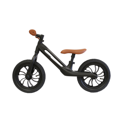 Brown Qplay Racer Balance Bike