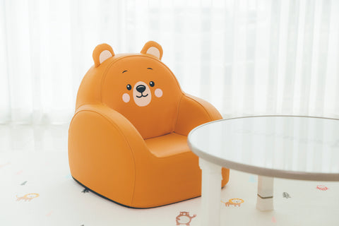 Dwinguler Bear Friends - Soffkin Leather Kids Sofa