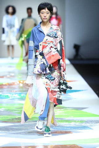 Reclothing Bank. Credit: Shanghai Fashion Week