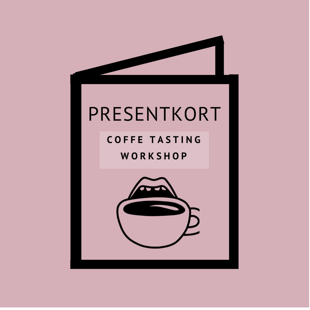 Presentkort - Coffee Tasting Workshop
