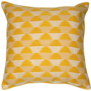 Sunrise Cushion - Mustard