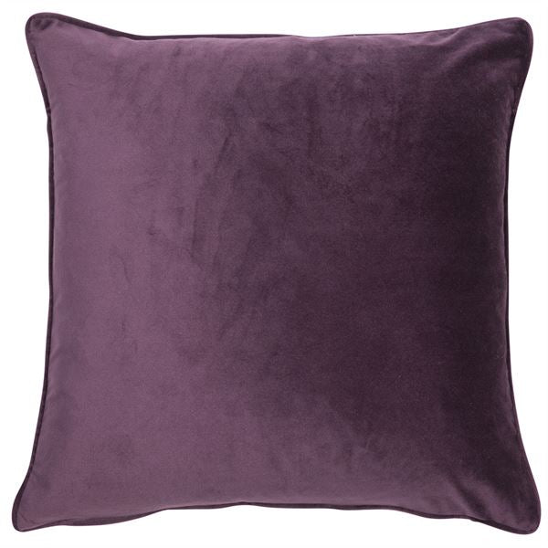 Velvet Cushion - Purple