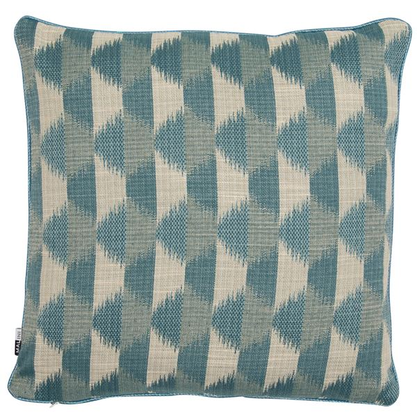 Sunrise Cushion - Teal