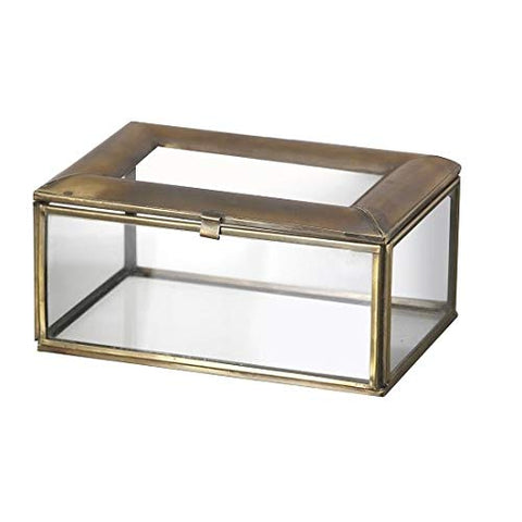 Brass Jewellery Display Box