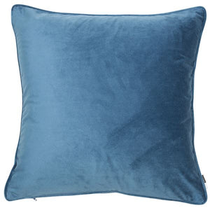 Velvet Cushion - Blue Wing